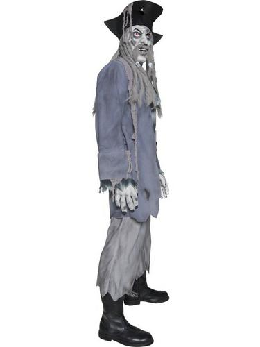 Zombie Ghost Pirate Fancy Dress Costume Thumbnail 3