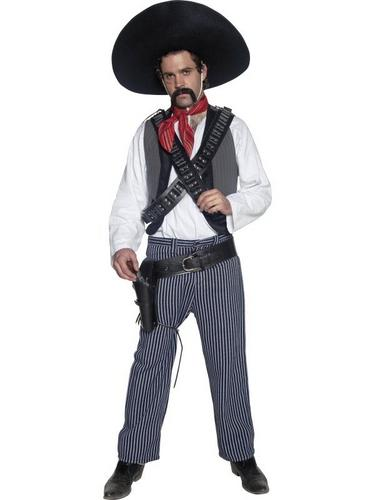 Mexican Bandit Fancy Dress Costume Thumbnail 1