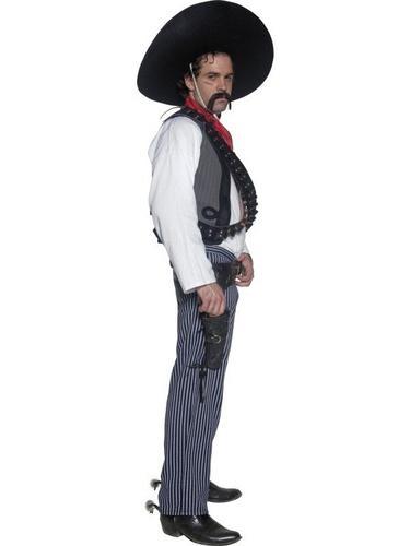 Mexican Bandit Fancy Dress Costume Thumbnail 3