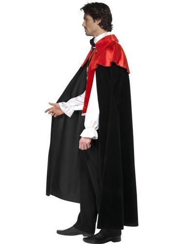 Gothic Manor Vampire Fancy Dress Costume Thumbnail 3