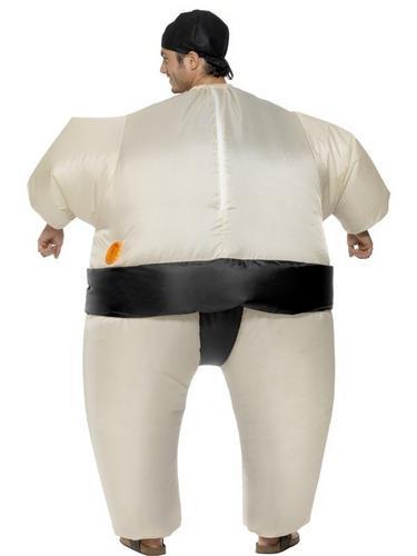 Sumo Wrestler Inflatable Fancy Dress Costume Thumbnail 3