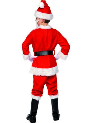 Boys Santa Fancy Dress Costume Thumbnail 2