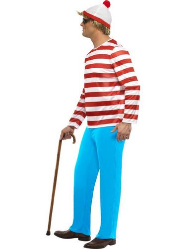 Wheres Wally Fancy Dress Costume Thumbnail 3