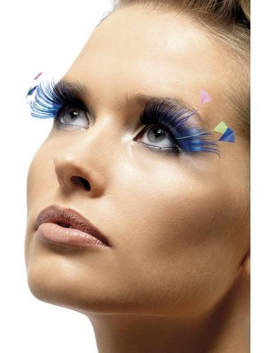Eyelashes   Black with Plumes Thumbnail 1