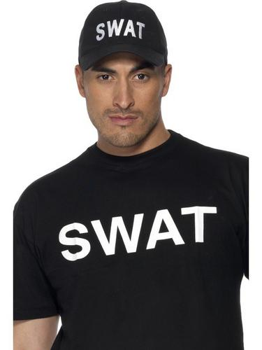 Swat Baseball Cap Black Thumbnail 1