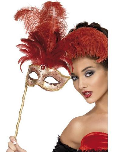 Baroque Fantasy Fancy Dress Mask Thumbnail 1