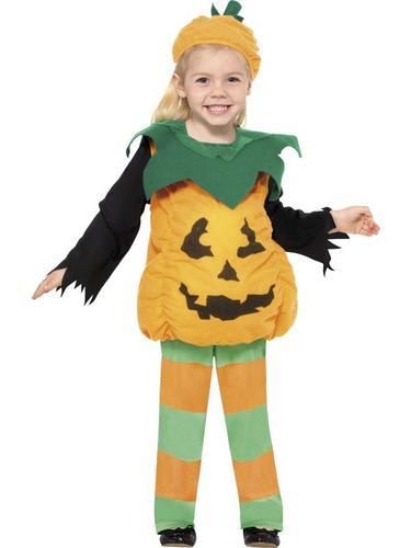 Little Pumpkin Fancy Dress Costume Thumbnail 1