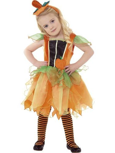 Pumpkin Fairy Fancy Dress Costume Thumbnail 1