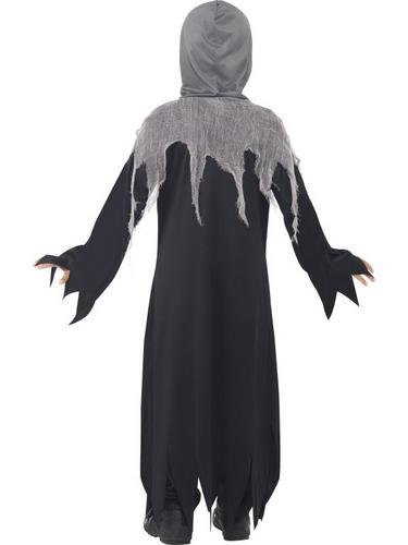Grim Reaper Fancy Dress Costume Kids Thumbnail 2