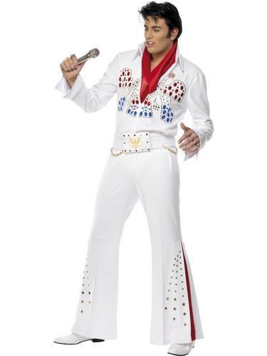 Elvis American Eagle Fancy Dress Costume Thumbnail 1