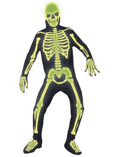 Graveyard Bones Fancy Dress Costume Thumbnail 1