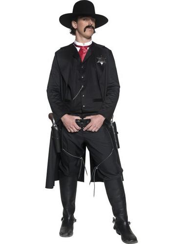 Western Sheriff Fancy Dress Costume Thumbnail 1