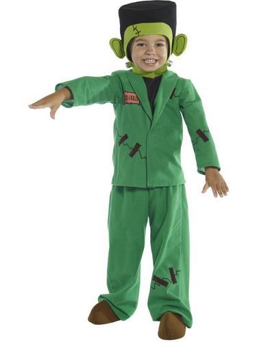Toddler Monster Fancy Dress Costume Thumbnail 1