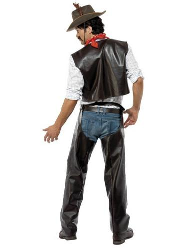 Village People Cowboy Fancy Dress Costume Thumbnail 3