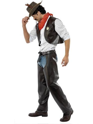 Village People Cowboy Fancy Dress Costume Thumbnail 2