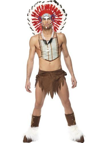 Village People Indian Fancy Dress Costume Thumbnail 1