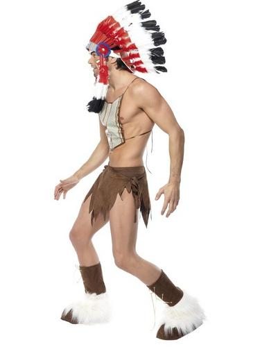 Village People Indian Fancy Dress Costume Thumbnail 2