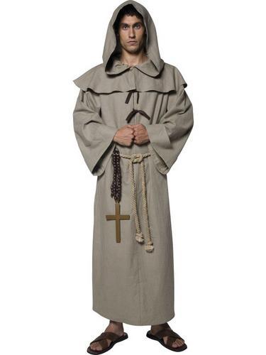 Friar Tuck Fancy Dress Costume Thumbnail 1