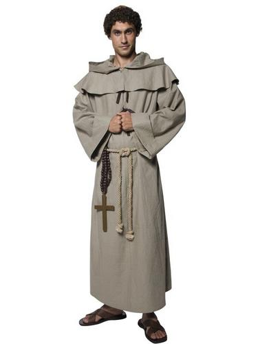 Friar Tuck Fancy Dress Costume Thumbnail 2