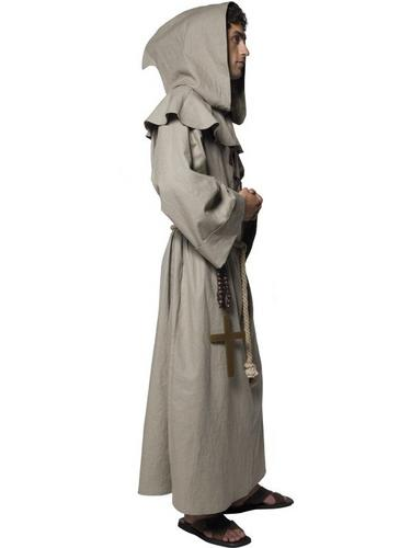 Friar Tuck Fancy Dress Costume Thumbnail 3