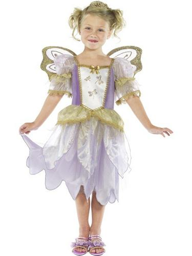 Fairy Princess Fancy Dress Costume Thumbnail 1