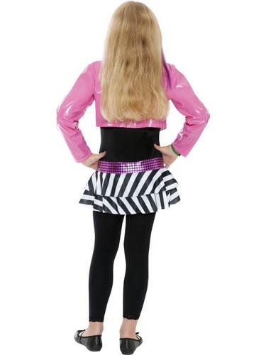 Girls Rockstar Glam Fancy Dress Costume Thumbnail 2