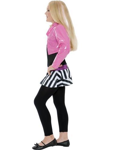 Girls Rockstar Glam Fancy Dress Costume Thumbnail 3