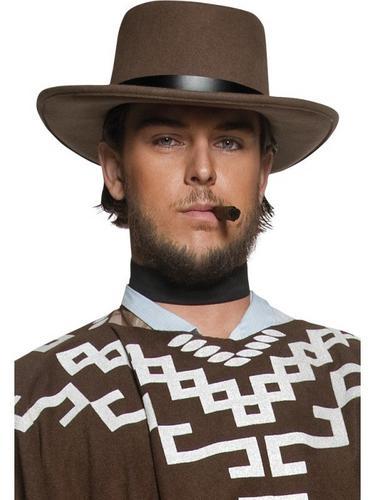 Western Wandering Gunman Fancy Dress Hat Thumbnail 1