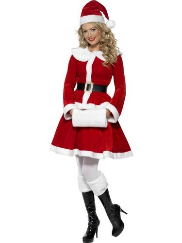 Miss Santa Fancy Dress Costume Thumbnail 2