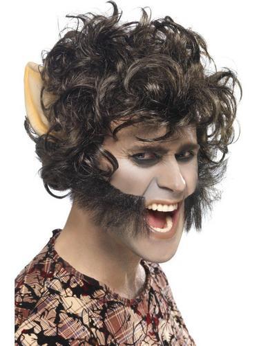 Werewolf Fancy Dress Wig Thumbnail 1