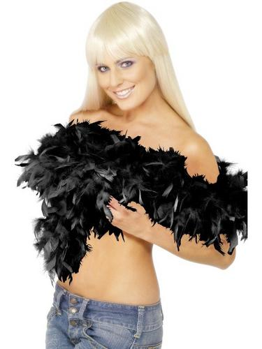 Feather Boa Black Thumbnail 1