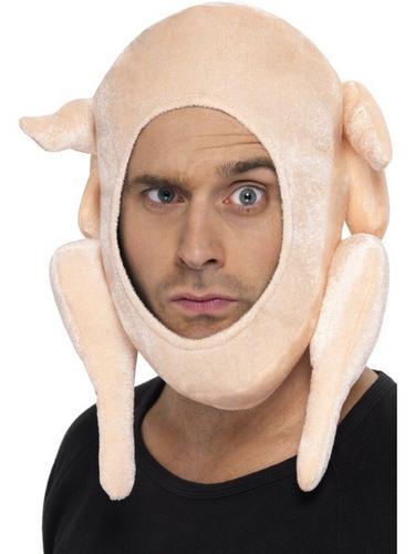 Stuffed Turkey Fancy Dress Hat Thumbnail 1
