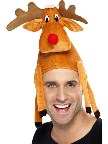 Reindeer Hat, Sat On Your Head Thumbnail 1