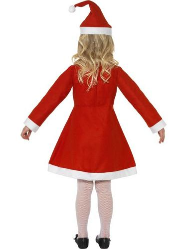 Value Santa Girl Fancy Dress Costume Thumbnail 2