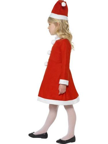 Value Santa Girl Fancy Dress Costume Thumbnail 3