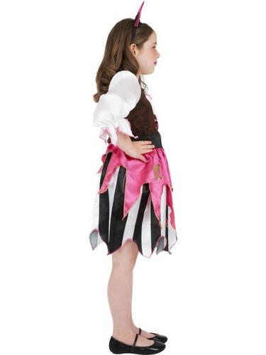 Pink Pirate Girl Fancy Dress Costume Thumbnail 3