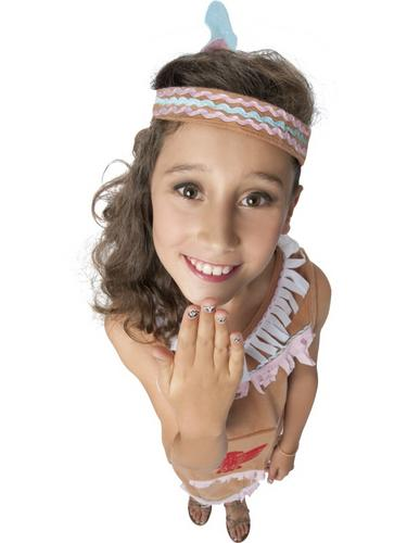 Indian Girl Fancy Dress Costume Thumbnail 3