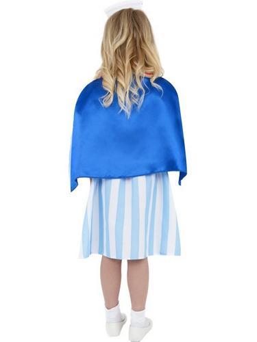 Girls Vintage Nurse Fancy Dress Costume Thumbnail 2