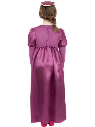 Tudor Girl Fancy Dress Costume Thumbnail 2
