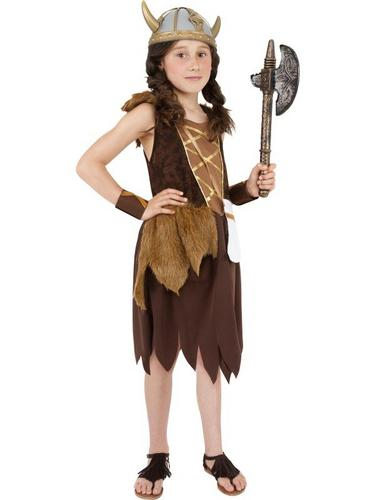Viking Girl Fancy Dress Costume Thumbnail 1