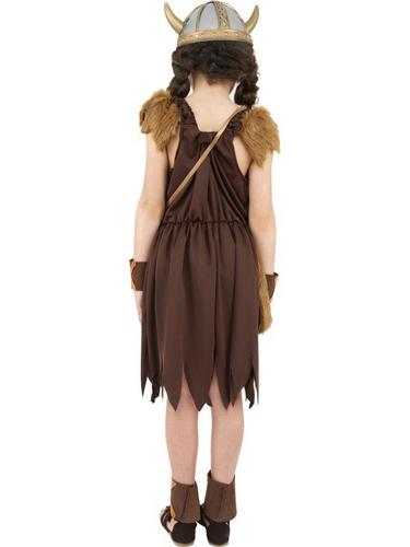 Viking Girl Fancy Dress Costume Thumbnail 2