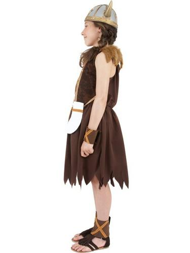 Viking Girl Fancy Dress Costume Thumbnail 3