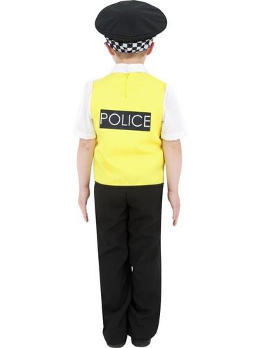 Police Boy Fancy Dress Costume Thumbnail 2