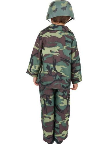 Army Boy Fancy Dress Costume Thumbnail 2