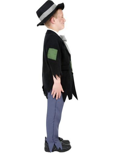 Dodgy Victorian Boy Fancy Dress Costume Thumbnail 3