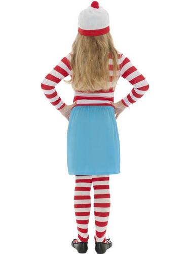 Wheres Wally? Wenda Child Fancy Dress Costume Thumbnail 2