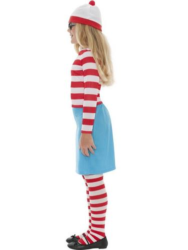 Wheres Wally? Wenda Child Fancy Dress Costume Thumbnail 3