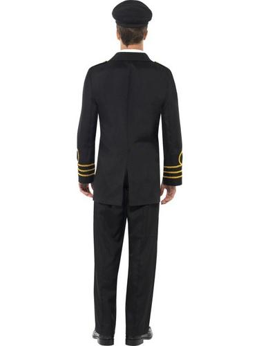 Navy Officer Fancy Dress Costume Thumbnail 2