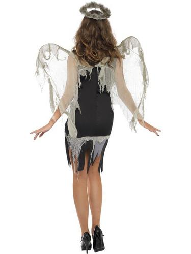 Dark Fallen Angel Fancy Dress Costume Thumbnail 2