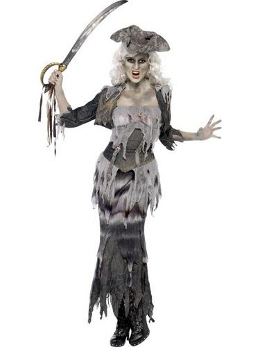 Ghost Ship Ghoulina Fancy Dress Costume Thumbnail 1